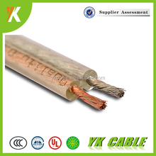 0.3mm transparent volume control audio cable electric wire