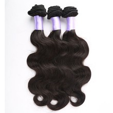 Carina Hair Products Free Shipping 16inch&18inch&20inch Body Wave Natural Black Brazilian Virgin Hair