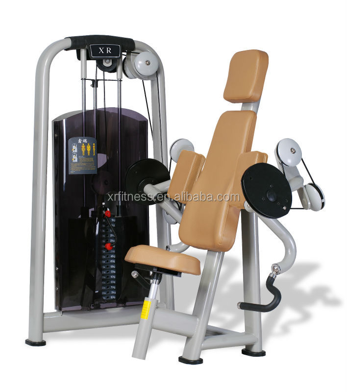 Seated Tricep Press Machine Seated Triceps Press Machine