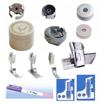 Partes de máquinas de coser y accesorios