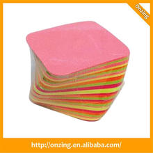 Paper paper cube box for office