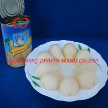 Canned fruit manufacturer , canned pear in light syrup