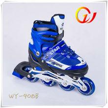 Vendita calda 2in1 regolabile quattro ruote pattini a rotelle, pattini a rotelle che si attaccano alle scarpe