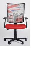Fashion Mesh Swivel Lift Task Office Chair,Simple Swivel Computer Furniture Chair, Economic Work Mesh Task Chair Furniture