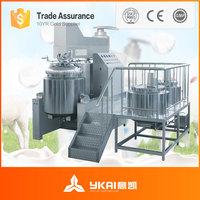 ZJR-650 Vacuum cream emulsifying mixer machine, vacuum mixer homogenizer for lotion, cosmetics, emulsion.