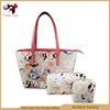 Embroidery design travel women messenger bag