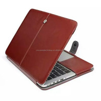 new arrival stand flip leather case for Macbook Pro