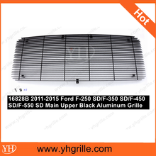 Hot sale Upper Black car Billet Grille for Ford F-250 SD/F-350 SD/F-450 SD/F-550 SD 2011-2015