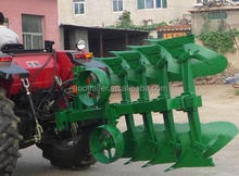 Hydraulic turnover five plough