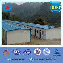 Fast assemble refugee camp prefabricated house,refugee tent