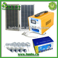 2013 Hot! 16W small solar power kits, low cost solar lighting kit