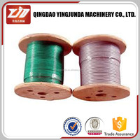 Stainless steel wire rope 1x19 for crane 7X19 steel wire rope