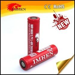 IMR18490 lithium battery 2900mah li-ion battery 3.7 Rechargeable Safe Chemistry mods Battery for mini provari/vv mod/Vmax