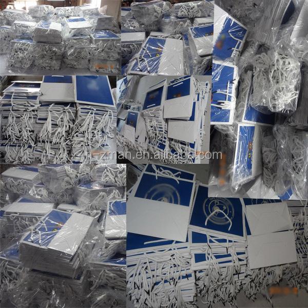 Custom Paper Shopping Bag,Shopping Paper Bag,Gift Paper Bag with ribbon handle