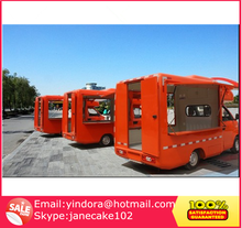 Low price Mobile food vending truck mobile catering food van