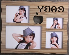 Promotional Happy Birthday Picture Frame Baby 100 Days Picture Photo Frame/Picture Frame for Party Decoration