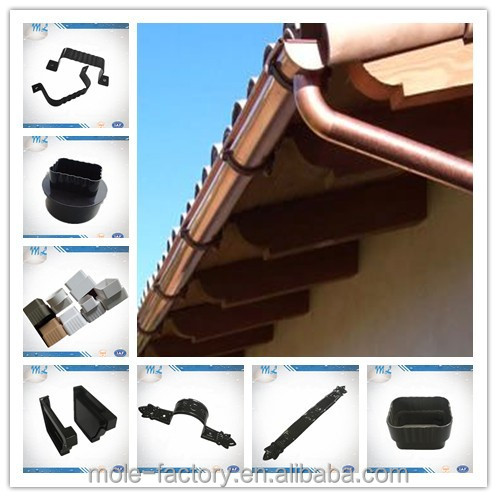 how to clean high rain gutters
