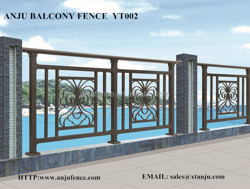 Iron grill design for balcony made in china yt002 buy - Box grill designs balcony ...