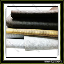 Yuhua newest automotive synthetic leather for car seat cover
