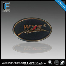 Promotional custom chrome badge emblem for car and motorcycle