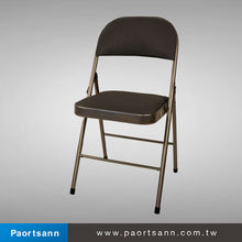 Cheap portable and foldable leather waitting / conference Room Chair