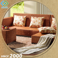 Competitive Price Poly Rattan Italian Style Sofa Set Living Room Furniture