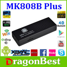 full hd 1080p porn video android smart tv box Smart tv stick 1GB/8GB Quad Core Remote Control Mini PC MK888B Plus Amlogic M805