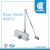 2015 hot KD073 hydraulic electric dorma floor spring glass door closer types