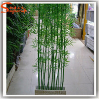 Nearly natural artificial bamboo fence artificial bamboo plants