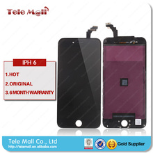 Hot Sale Replacement Mobile Phone black Touch LCD Screen For Iphone 6 With High Quality And Factory Price Wholesale
