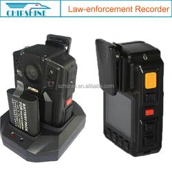 Bulit-in GPS 3900mAh Waterproof Mini Digital Infrared police body camera