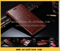 NEW HOT Luxury Glossy PU Leather Flip Wallet Car Case Cover for Huawei Ascend P7