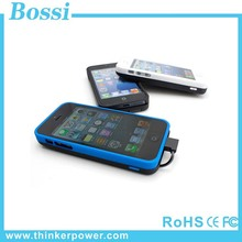 best selling cell phone cases for iphone power bank case for MFI iphone 5/5s with good quality