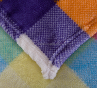 2015 fashion warm polyester flannel fleece blanket /caroset blanket