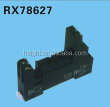 HEIGHT Hot Sale RX78627 Relay Socket /5 pin Relay Socket/electrical relay with High Quality Factory Price