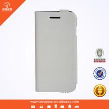 2014 Hot selling 4.7 inch replica microfiber material mobile I phone6 phone flip cover case