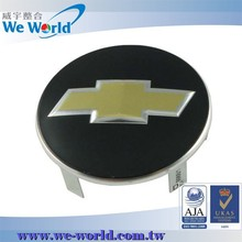 Custom aluminum tire cover for car wheel rim