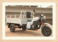 China Manufactor Cheap New Modle Three Wheel Covered Motorcycle For Cargo