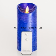 Wedding decoration rechargeable Led flameless Candle with timer