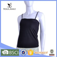 2015 New Products Elegant Mature Women Polyester Racer Back Tank Tops Wholesale