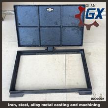 BS EN124 ductile iron septic tank manhole cover