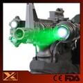 De largo alcance táctico subzero 100 mw linterna láser verde para arma del tiro de caza