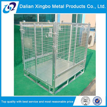 2015 heavy indusrtial metal stackable wire cage used for storage
