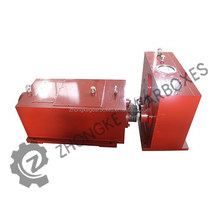 Nice quality plasitc twin screw exruder gearbox, extruder parts