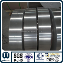 Aluminum foil strips for lithium battery materials