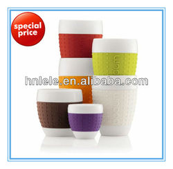 manufacture custom heat resistand silicone rubber sleeve for cups