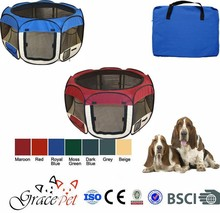 New design high quality pet tent/ dog playpen/ pet cage