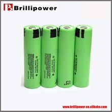 Brillipower Protected 18650 2900mAh 3.7v rechargeable Li-ion Battery for Big E Eig Mod with high power NCR18650 PF BATTERY