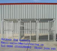 Metal pet fences grid galvanized portable dog kennels 2.9x4.5x1.8m XXXL large dog kennels mesh panels outdoor dog kennels