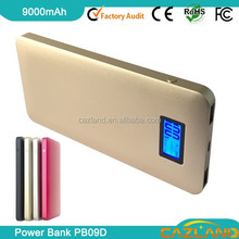 new arriving PB09 Colorful 8000mah Li-Polymer Rubber Protect Case Mobile charger
